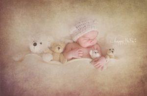 Babyfooshooting Neugeborenen Fotoshooting Nostalgiefoto Erfurt Thüringen