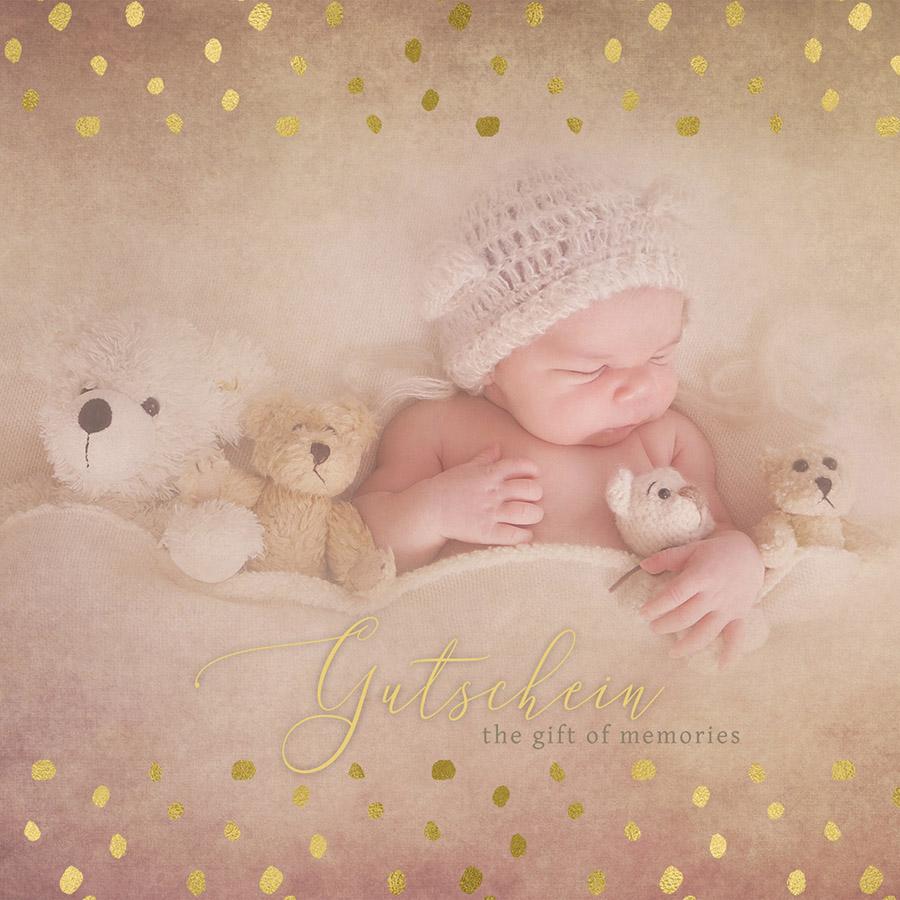 Geschenkgutschein Neugeborenen Shooting, Babyfotoshooting, Fotoshooting in der Schwangerschaft, Erfurt