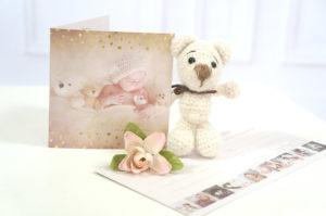 Geschenkgutschein für Neugeborenen Shooting in Erfurt